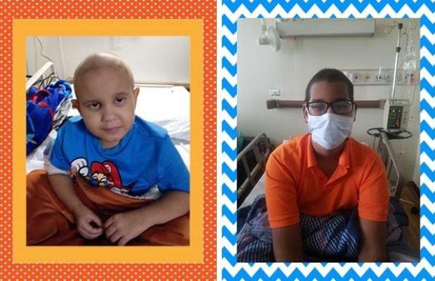Claman por ayuda para dos niños con Leucemia