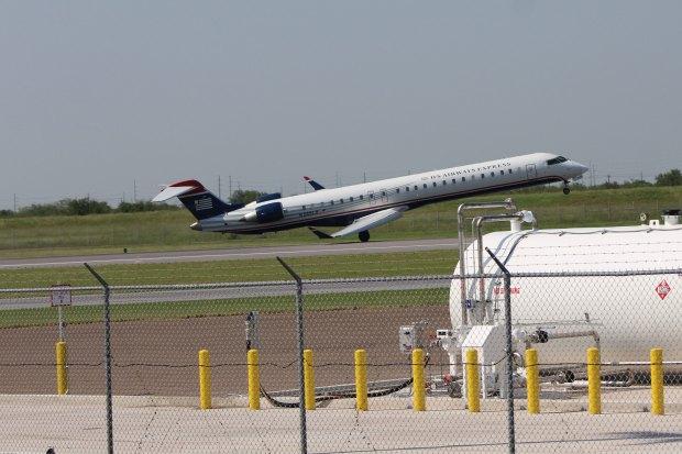 Fotos: Pasajeros se llevan un susto durante aterrizaje