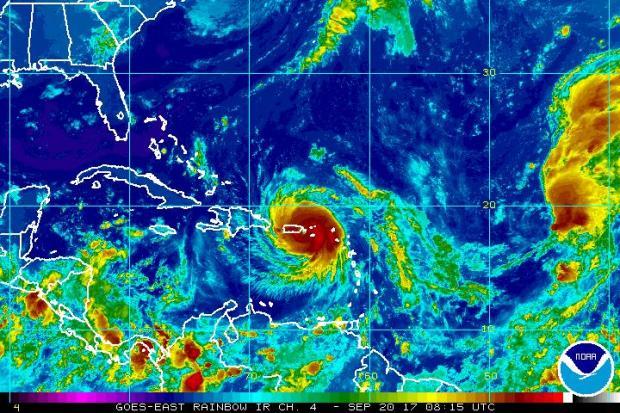 Mira la trayectoria del huracán María