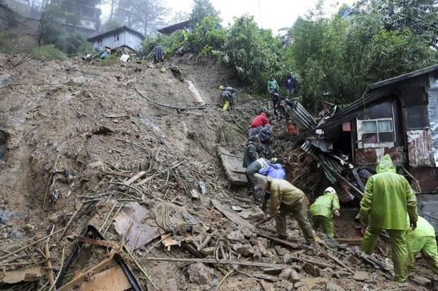 El feroz tifón Mangkhut siembra muerte