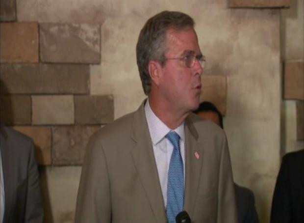 """Jeb Bush dice que hay fraudes con """"bebés anclas"""""""