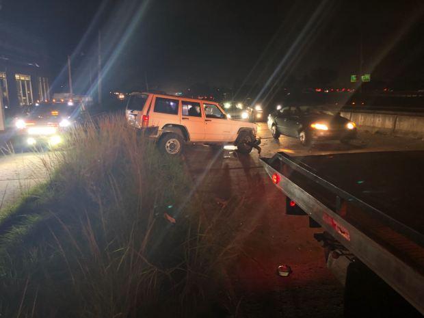 Fotos: Balacera de carro a carro deja un muerto en Caguas
