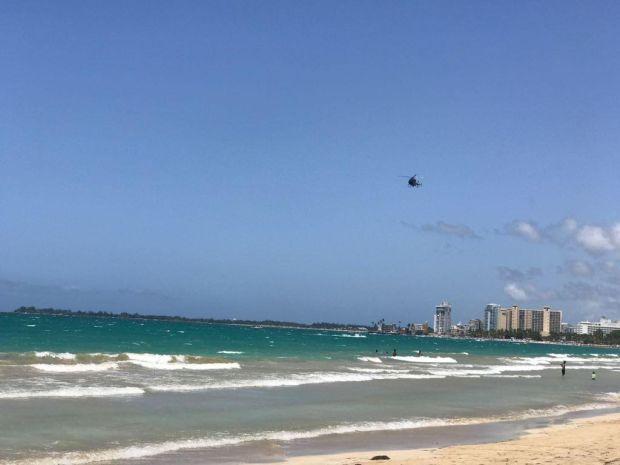 Tiburón despierta el pánico en playa de Isla Verde