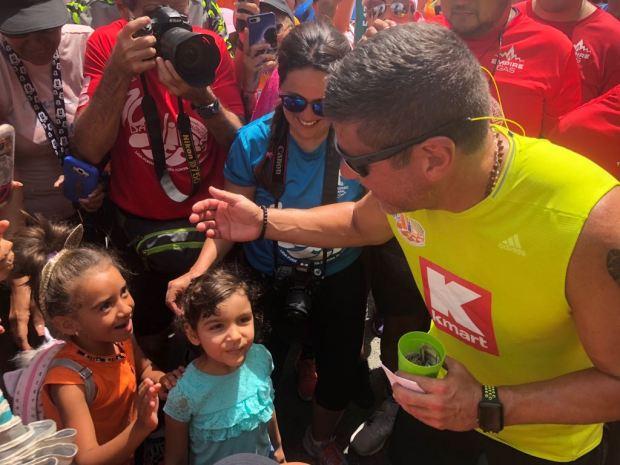 Da Vida 2018: Raymond firme en el cuarto día de la caminata
