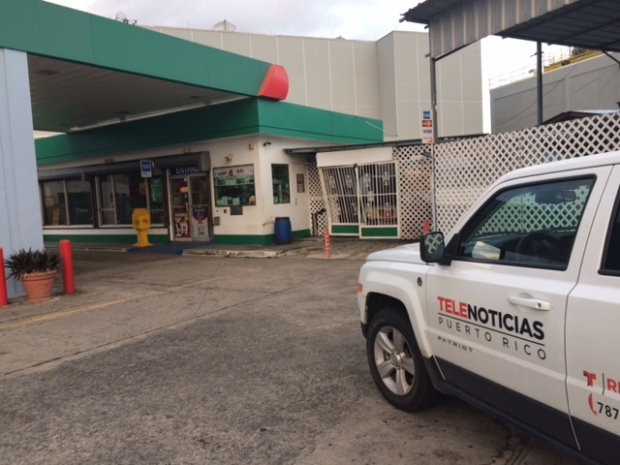 Se roban ATM de gasolinera en Barceloneta