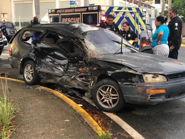 Se reporta accidente con pillado cerca de El Prado