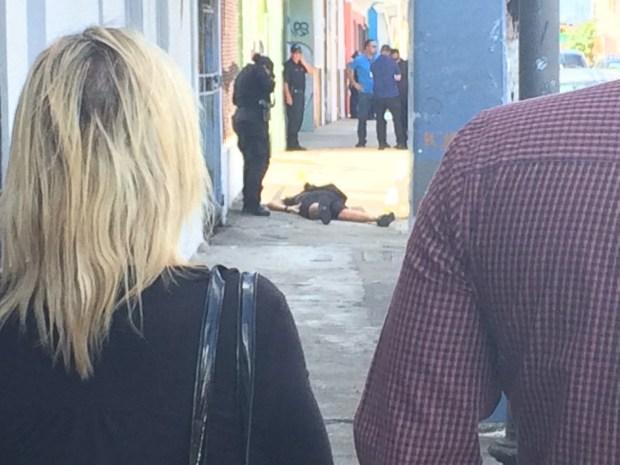 Asesinato a plena luz del día en Santurce