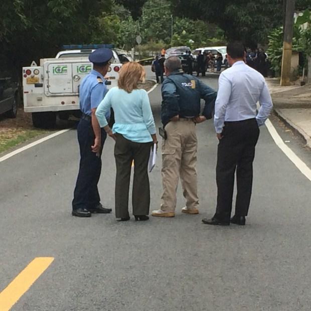 Fotos: Asesinan a hombre en Caimito
