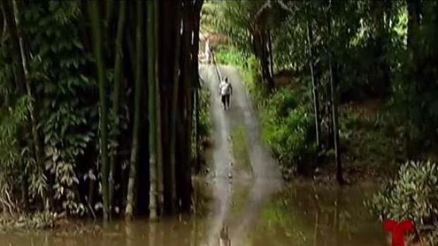 [TLMD - PR] Atrapados en sus hogares tras intensas lluvias en Utuado