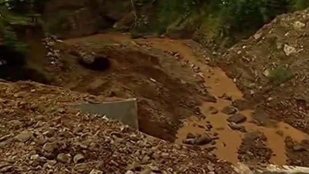 [TLMD - PR] Denuncian peligroso deslizamiento en Barranquitas
