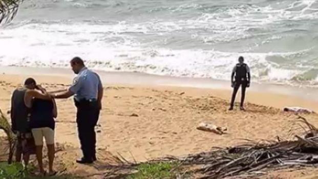 [TLMD - PR] Desconsolados los padres de niño ahogado en playa de Loíza