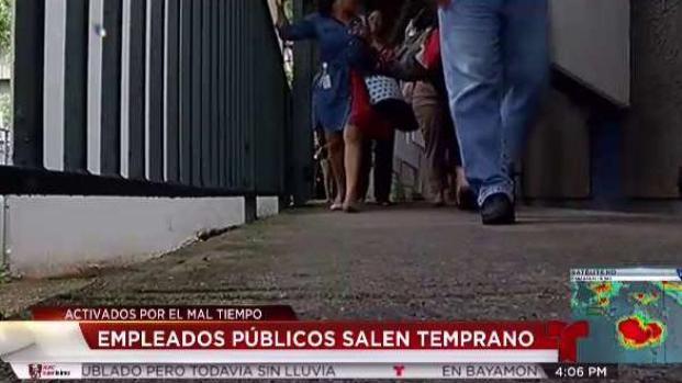 [TLMD - PR] Despachan empleados públicos de manera preventiva
