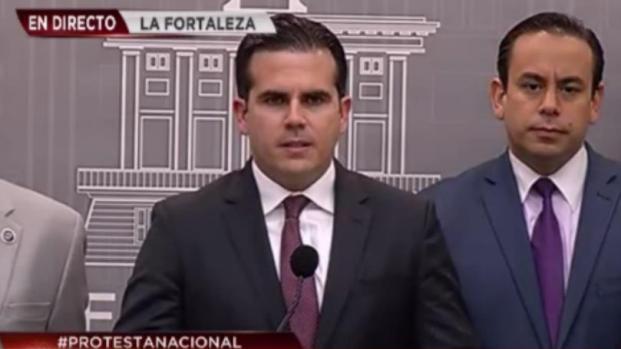 [TLMD - PR] Gobernador reacciona a la protesta nacional
