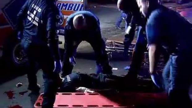 Hombre resulta herido de bala en medio de carjacking