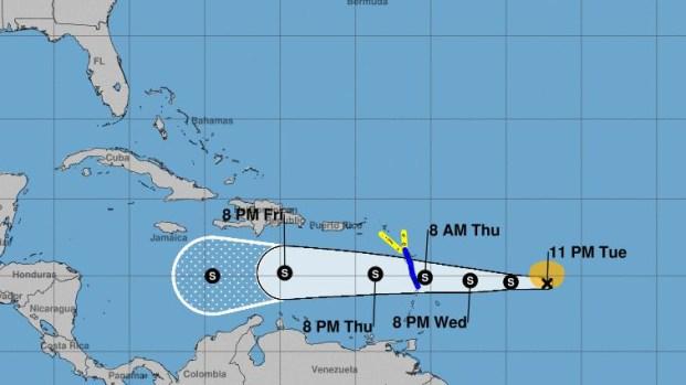 [TLMD - PR] Puerto Rico queda fuera del cono de incertidumbre
