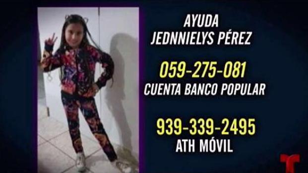 [TLMD - PR] Jednnielys será trasladada a Orlando para recibir tratamiento