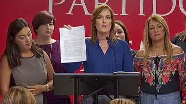 [TLMD - PR] Líderes del PPD reclaman acción de Rosselló ante escándalo de acoso sexual