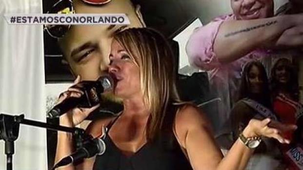 [TLMD - PR] Melina León estalla en llanto en vigilia para víctimas boricuas