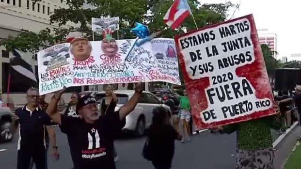 [TLMD - PR] Realizan manifestación contra la JSF en Hato Rey