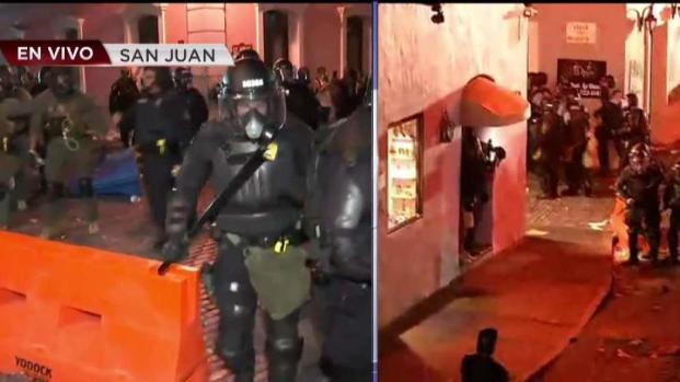 [TLMD - PR] Se torna violenta protesta en la Fortaleza
