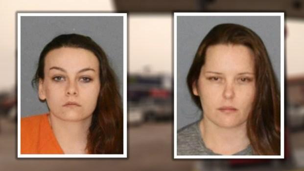 Madre y tía arrestadas macabro hallazgo detrás de gasolinera