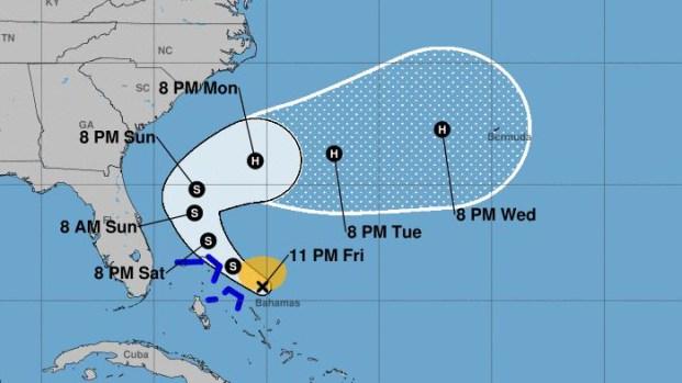 Se forma la tormenta tropical Humberto
