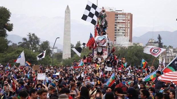 Se cumple un mes del inicio de las protestas en Chile