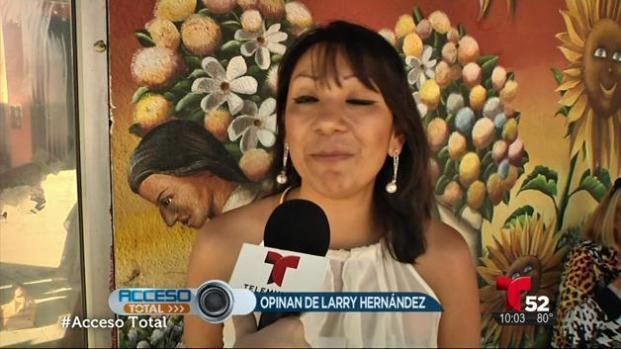 La gente reacciona sobre el caso de Larry Hernández