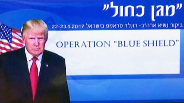 """""""Escudo Azul"""": cuarto antimisiles y 10,000 policías para Trump"""
