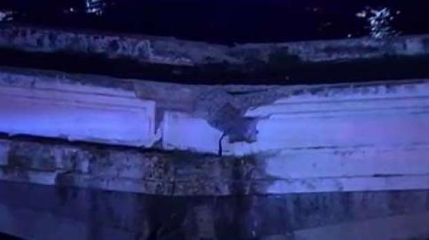 [TLMD - PR] Colapsa parte del antiguo puente Dos Hermanos
