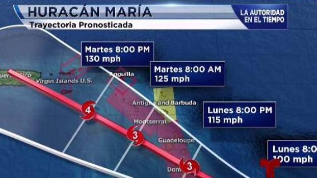 Huracán 'María' azota Puerto Rico