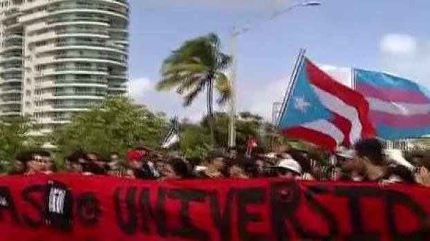 [TLMD - PR] Estudiantes de la UPR se manifiestan contra la JCF