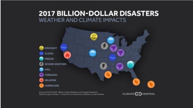 En cifras: los desastres naturales más mortíferos del 2017