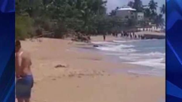 Captan llegada de decenas de indocumentados a Rincón