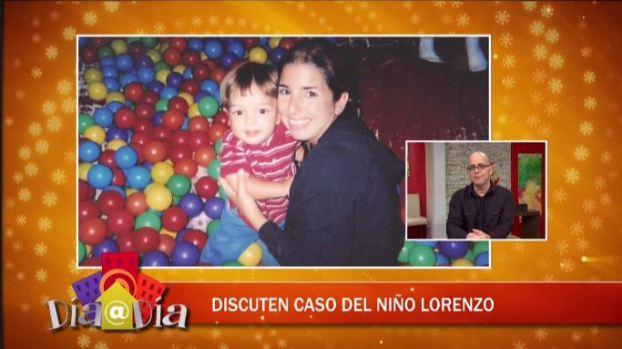 ''El caso del niño Lorenzo puede cambiar en cualquier momento''