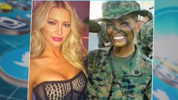 Conoce la sexi marine de EEUU que causa furor en Instagram