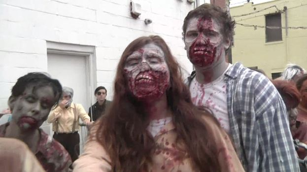 Zombies se apoderan de toda una ciudad