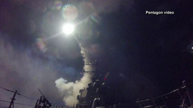 En imágenes: EEUU abre fuego contra Siria tras ataque químico