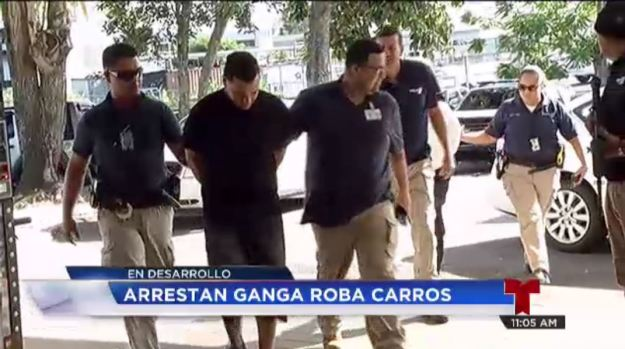 Atrapan pandilla que hurtaba carros por encargo