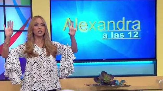 Alexandra a las 12: Defienden a Evelyn Vázquez