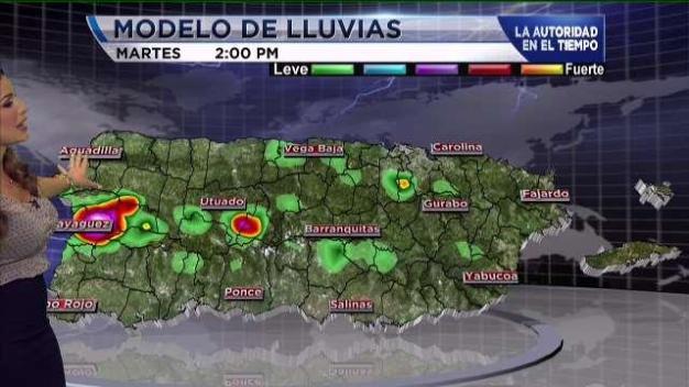 Continuarán la lluvias para este martes