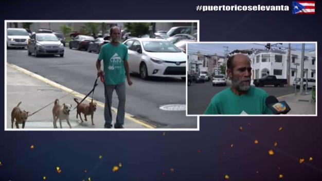 Deambula las calles tras perder todo durante el huracán
