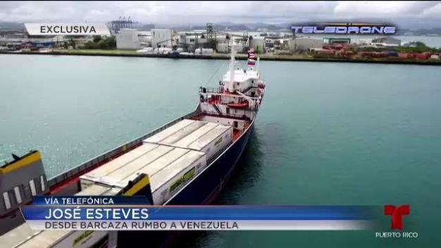 Difícil viaje humanitario hacia Venezuela