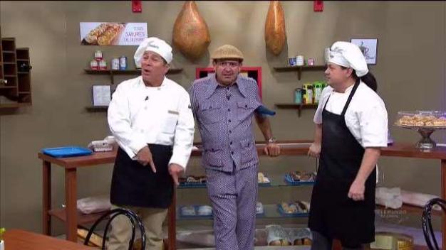 En la panadería le piden consejos a Maneco