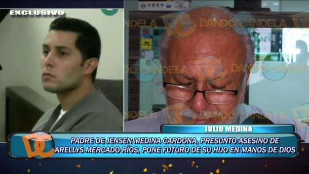 Entre lágrimas: padre de Jensen Medina rompe el silencio