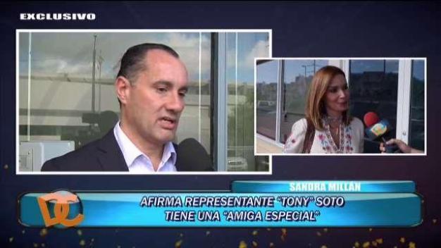 """Esposa de """"Tony"""" Soto lo acusa de tener una """"amante''"""