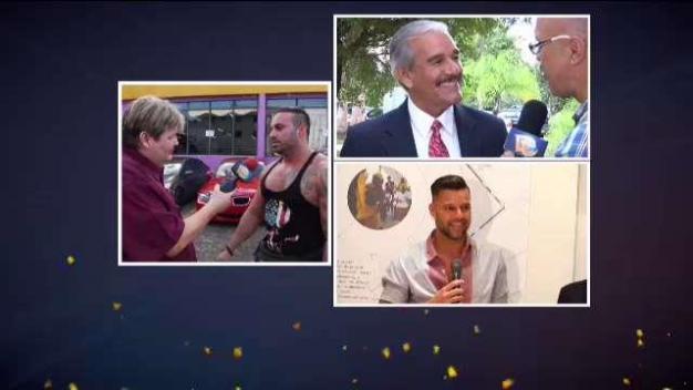 Fuera de peligro padre de Ricky Martin