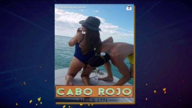 Gredmarie Colón publica candentes fotos con su novio