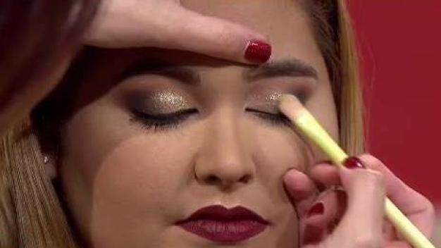 Ideas de maquillaje para las fiestas de Navidad