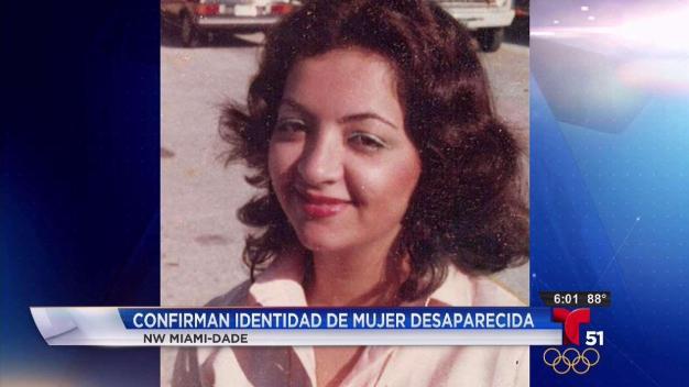Identifican mujer desaparecida hace 34 años